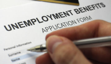 Applying for unemployment benefits